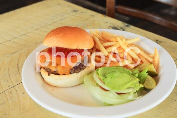 ハンバーガーアップの写真
