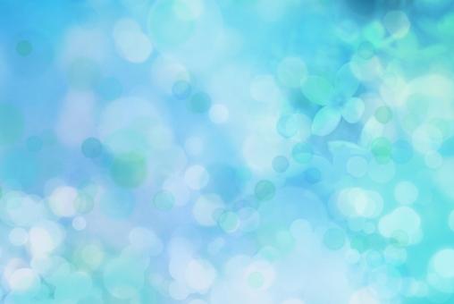 ブルー 爽やか さわやか 涼しい 春 テクスチャ テクスチャー 水色 涙 背景 背景素材 テキストスペース コピースペース 花 イメージ 初夏 光 海 青 夏 5月 6月 7月 8月 梅雨 雨 水面 涼やか 泡 あわ キラキラ 水