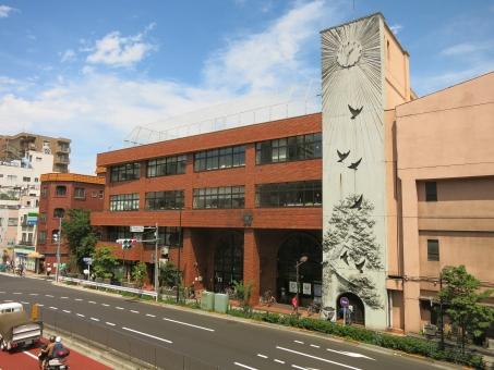 下町 台東区 東京 tokyo 16 街並 区立 風情 古 町 鶯谷 明治 根岸小学校 校舎 時計