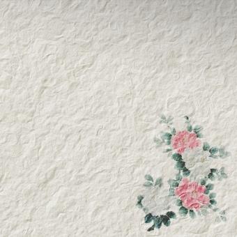 和紙 花 植物 生活 雑貨 工芸 素材 バックグラウンド テクスチャ 生成り シンプル 淡い 紙 ペーパークラフト 押し花 wa 和柄 和風 壁紙 小花 フラワー
