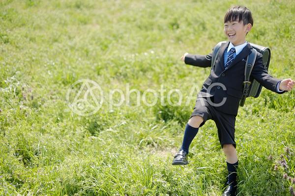 小学生の男の子47の写真