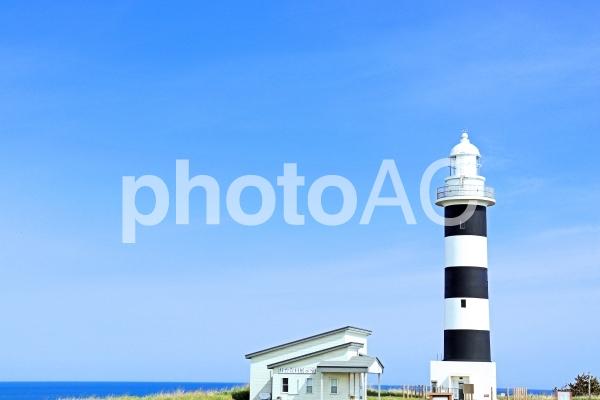入道崎 灯台 空 海の写真