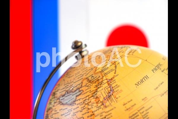 日本とロシアの写真