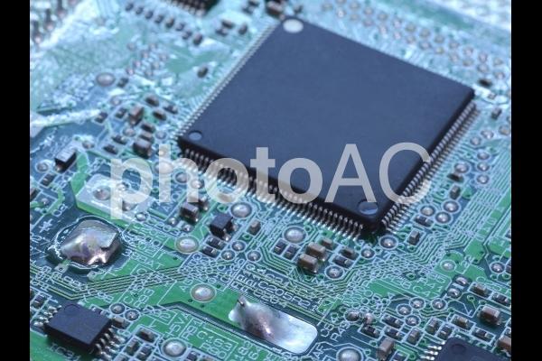 電子基板 回路の写真
