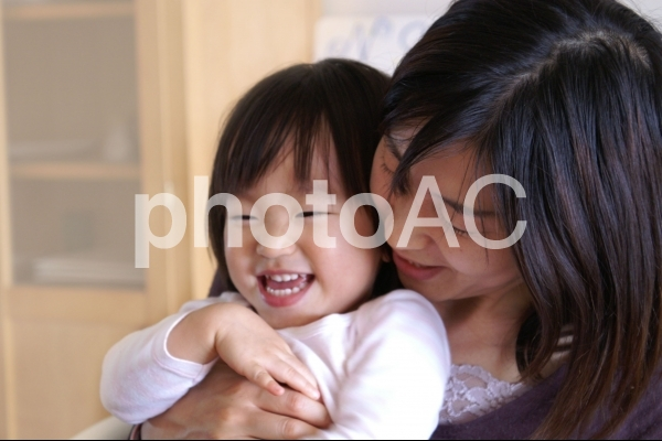 親子の写真