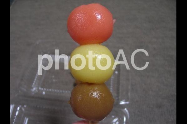 三色団子の写真