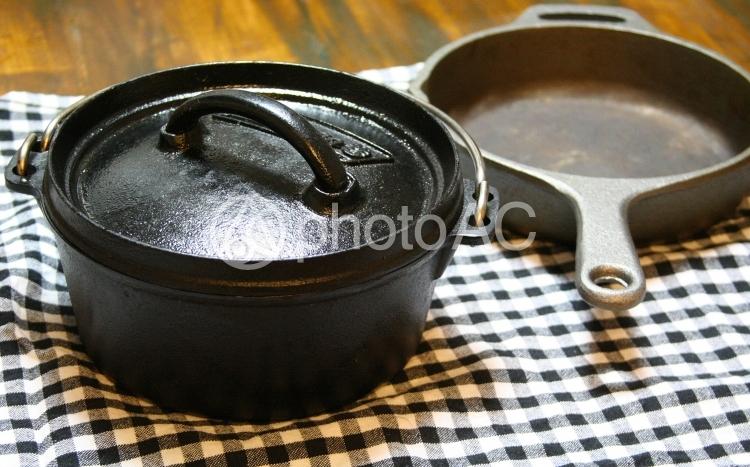 ダッチオーブン スキレットの写真