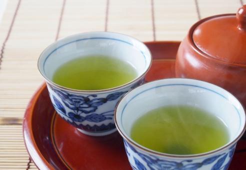 一休み コップ お茶 急須 飲み物 食後 茶 茶色 和 茶碗 和風 液体 日本 古風 一服 小物 日本茶 緑茶 湯のみ 陶磁器 湯気 茶器 煎茶 湯呑み tea cup 横手 煎茶道 Teapot