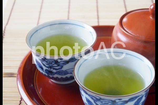 日本茶セットの写真