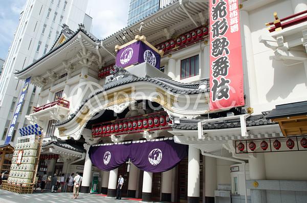 歌舞伎座の風景13の写真