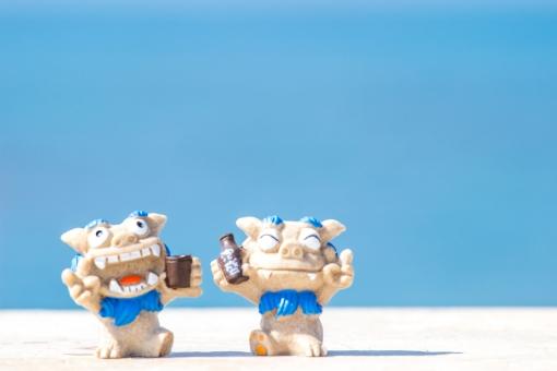 泡盛 シーサー 守り神 ビーチ 砂浜 青空 スカイブルー 沖縄 海 南国 トロピカル リゾート 海水浴 夏休み 夏 真夏 常夏 観光 波 グラデーション バケーション オーシャン 休暇 美しい パンフレット 旅行 きれい 楽しい 遊ぶ 風景 背景 青い海 エメラルドグリーン コバルトブルー 爽やか 入道雲 沖縄旅行 旅 おきなわ 沖縄県 サマー 白 白色 自然素材 背景素材 自然 壁紙 オキナワ 青 青色 7月 8月 砂 快晴 空 夏季 琉球 光 景色 コバルト エメラルド ブルー