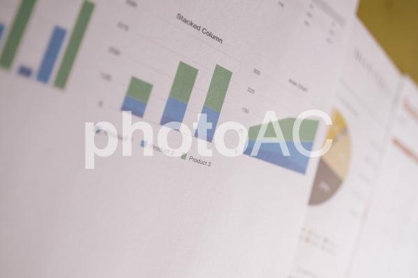 チャートグラフ・棒グラフ25の写真