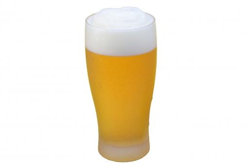 グラスビール(PSD)の写真