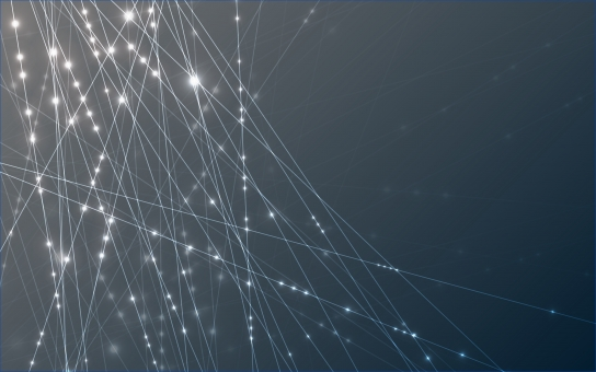 ネットワーク 光彩の写真