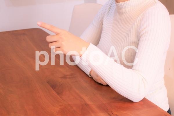 喧嘩や話し合いのイメージの写真
