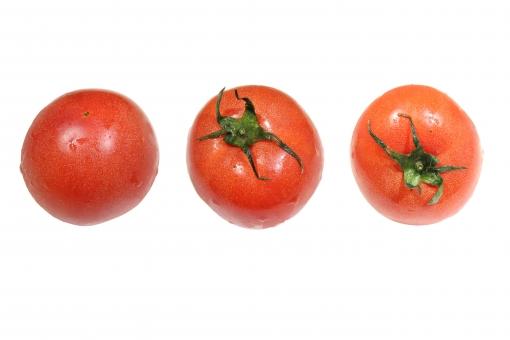 トマト 切り抜き PSDありの写真