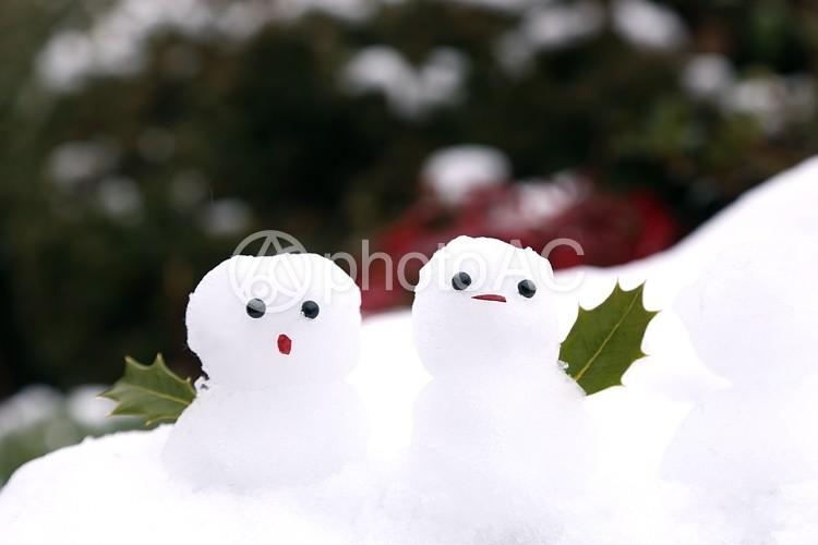 雪だるま3の写真