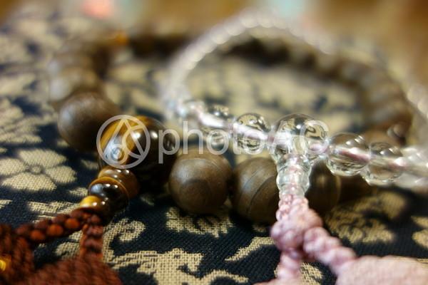 仏事 数珠2の写真
