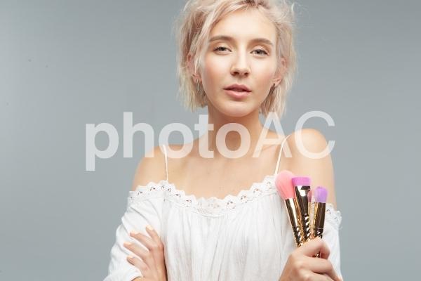 女性モデルのポートレート7の写真