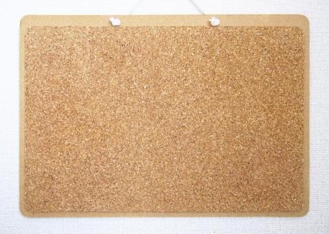 テクスチャー 背景 バックグランド コルクボード コルクシート 掲示板 吊り下げる メモ 壁 四角 フレーム 枠
