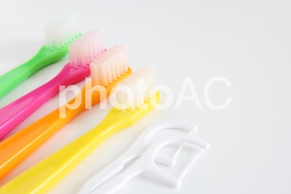 歯ブラシの写真