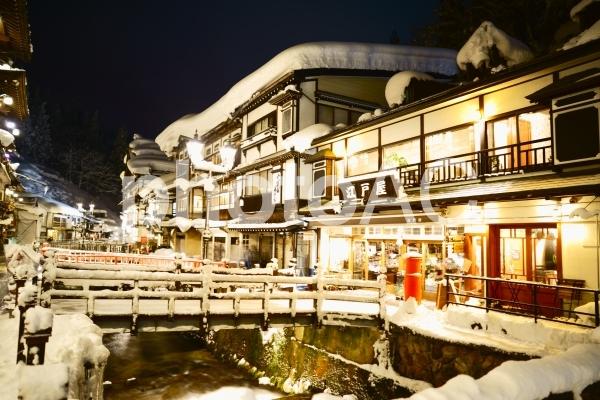 銀山温泉の写真