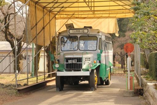 ボンネットバス バス 戦前 上野広小路 乗合バス