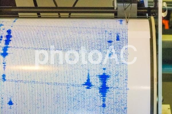 地震計測器の写真