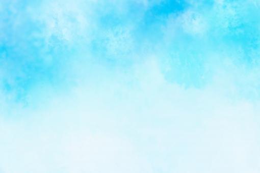 水彩背景 青の写真