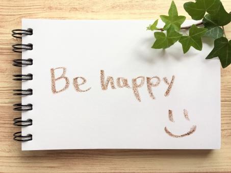 Be happyの写真