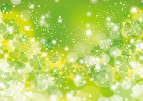 自然 波 ウェーブ 初夏 グリーン クローバー 四葉 風 緑 環境 エコ バック きらきら キラキラ 流れ 四ツ葉 葉っぱ 新緑 若葉 緑 春 夏 初夏 三つ葉 みつば 爽やか 背景 テクスチャ 4月 葉