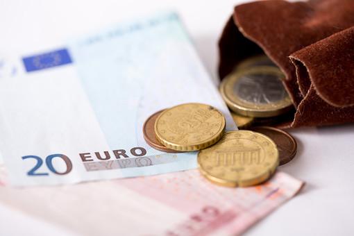 お金 マネー 紙幣 貨幣 通貨  外貨 コイン 小銭 外国 海外  ユーロ ヨーロッパ 金融 経済 ビジネス  価値  報酬 収入 貯金 貯蓄  両替 アップ 素材 白バック 白背景 小銭入れ 現金 20ユーロ札 10ユーロ札 10ユーロ紙幣 20ユーロ紙幣 硬貨 EU ユーロコイン セント