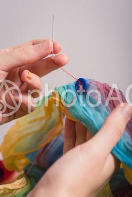 ソーイング 縫う13の写真