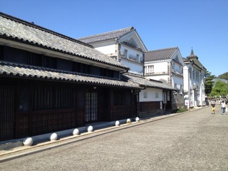 倉敷美観地区 白壁の町並み 歴史ロマン 倉敷市 蔵屋敷