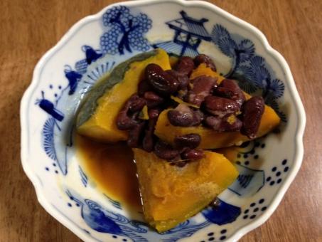 かぼちゃの煮物 かぼちゃ 南瓜 煮物 野菜 和食 家庭料理 おかず 総菜