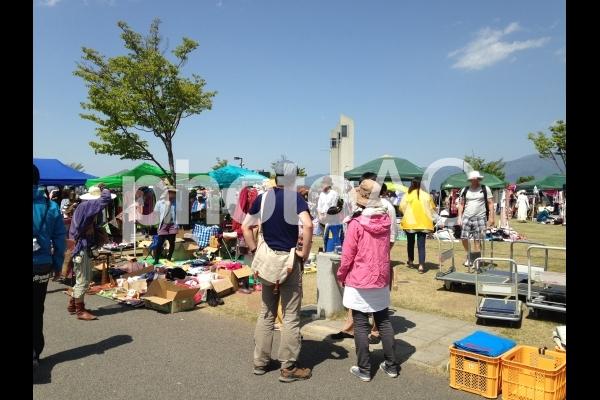 フリーマーケット の写真