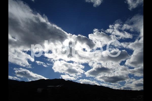 雲と光の写真