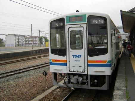 天竜浜名湖線 天竜浜名湖鉄道 気動車 単線 一両 新所原駅