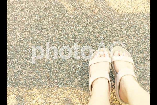 サンダルの写真