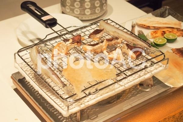 秋の味覚狩り 松茸の写真
