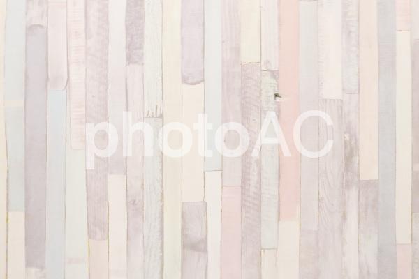 ペールトーンの木目テクスチャー背景素材の写真