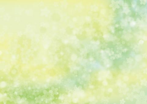 春 桜 花 夢 4月 テクスチャ 背景 素材 きらめき きらきら キラキラ 輝き 入学 卒業 お祝い さくら 立春 バレンタイン 雛まつり ホワイトデー 入園 卒園 合格 母の日 プロポーズ バック 緑 青 空 青空