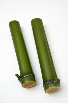 竹 植物 切り口 白バック たけ 和風 日本 背景 背景素材