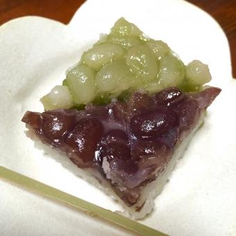 フード おいしい 和菓子 小豆 水無月 みな月 お菓子 デザート 甘いもの あんこ お茶受け スイーツ