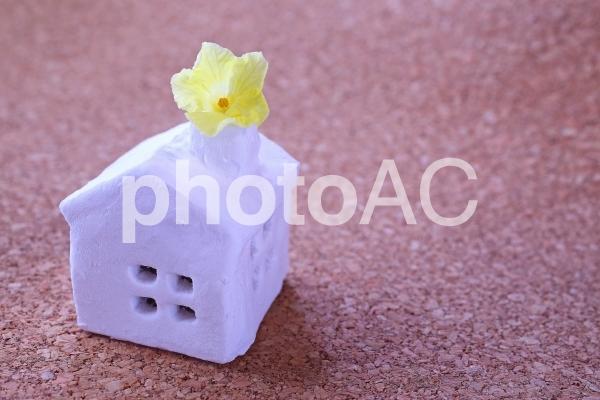 幸せな家 イメージ素材の写真