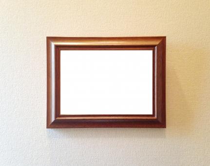アンティーク クラシック レトロ フォトフレーム 写真立て 額縁 背景 テクスチャ 肖像画 木製 木目 壁 和風 洋風 洋館 装飾 飾り枠 壁紙 部屋 インテリア こげ茶 茶色 壁