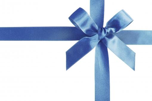 ギフト プレゼント 贈り物 ラッピング 素材 テクスチャ 背景 青
