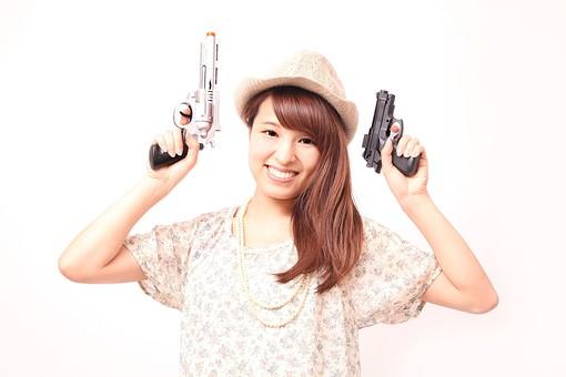 二丁拳銃に関する写真写真素材なら写真ac無料フリー
