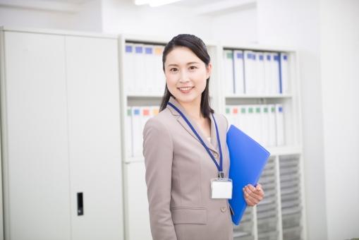 オフィスワークの女性53の写真
