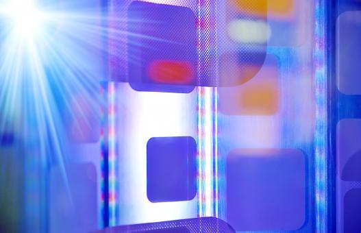 サイバー サイバー空間 it デジタル コンピュータ 虹 逆光 反射 インターネット 仮想空間 人工頭脳 電脳 背景 背景素材 テクスチャー テクスチャ 電子 電力 プラズマ 青 赤 グラデーション 情報 情報技術 itビジネス オフィス ビジネス